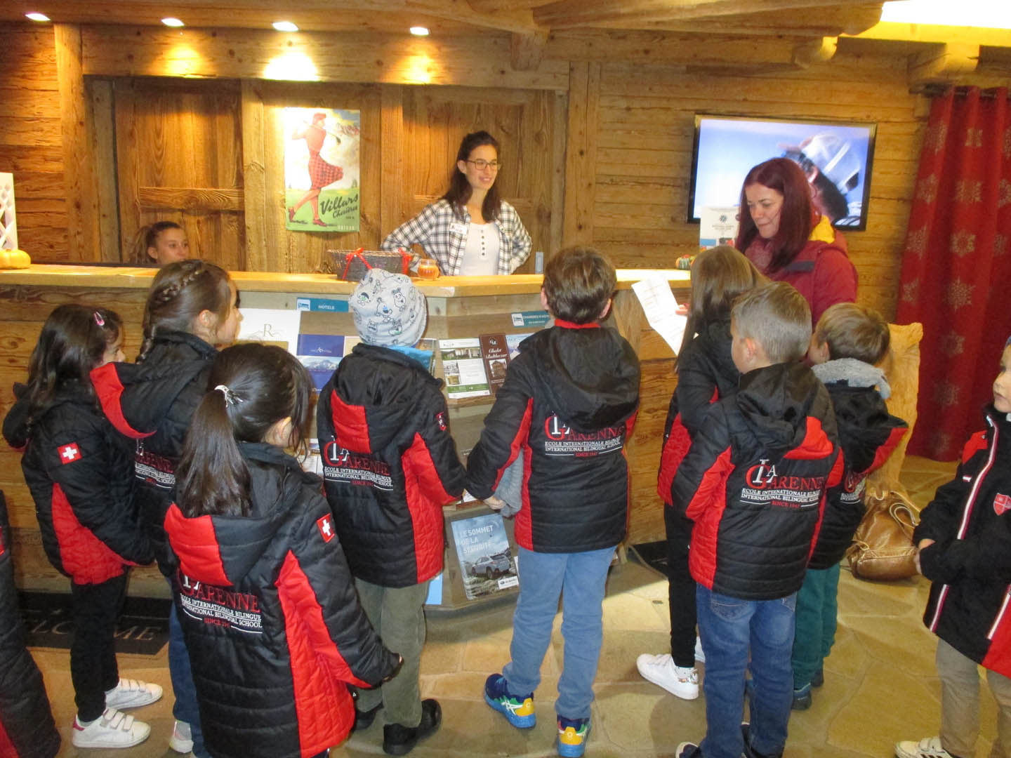 Year 1 and 2 visited the Tourist Information Office