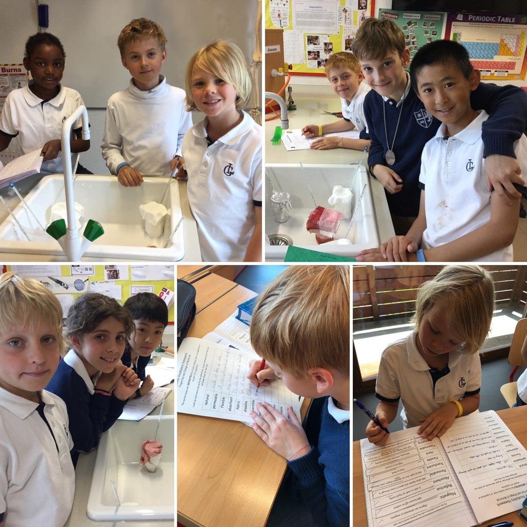 Year 5 - 'Properties and Change of Materials'