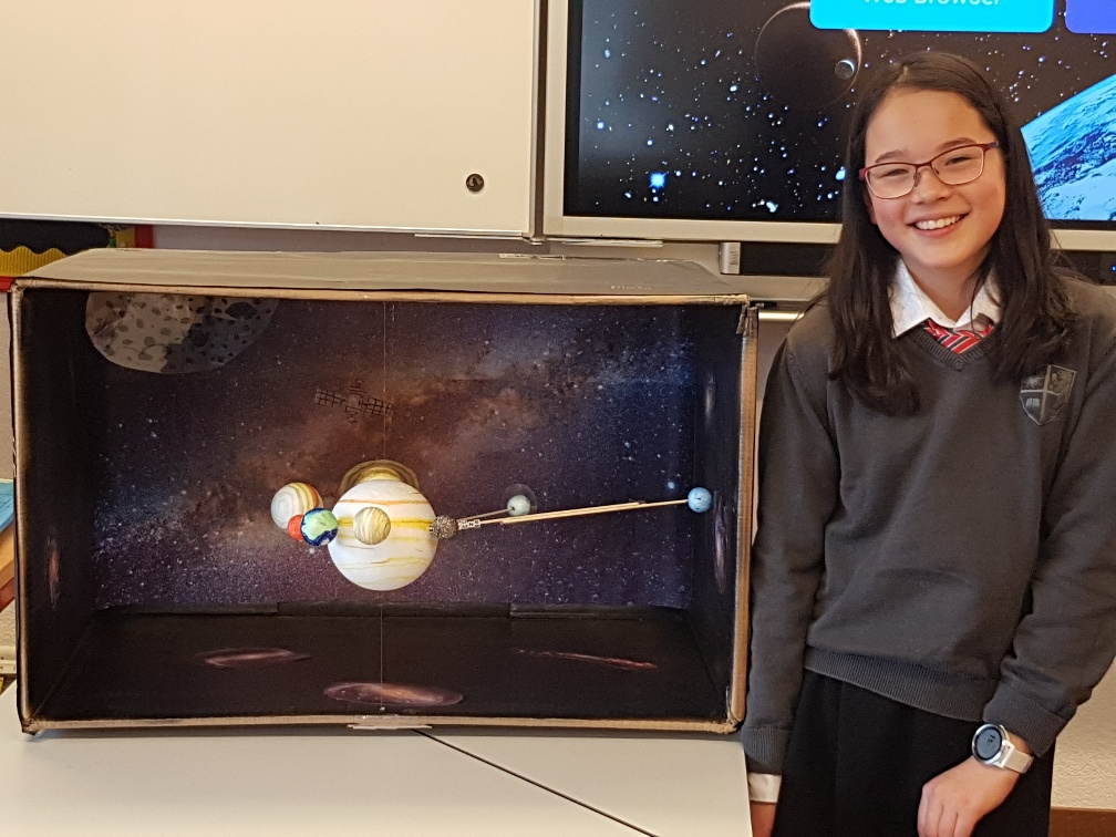 Science class are completing a unit focusing on Earth, Space & Space Exploration