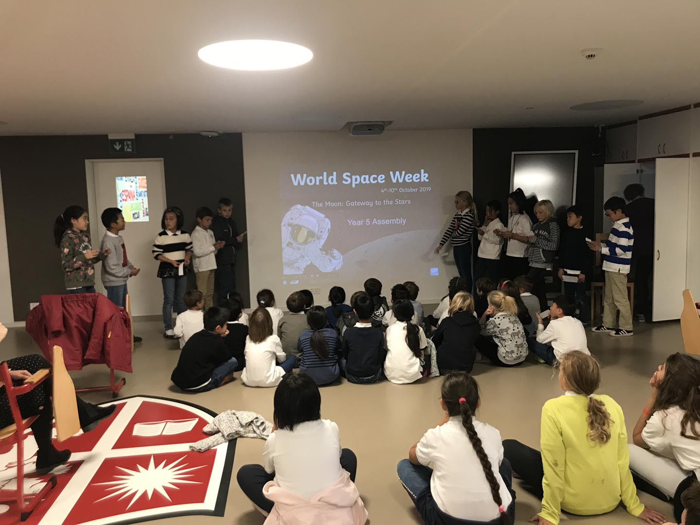 Minis' Assembly - World Space Week