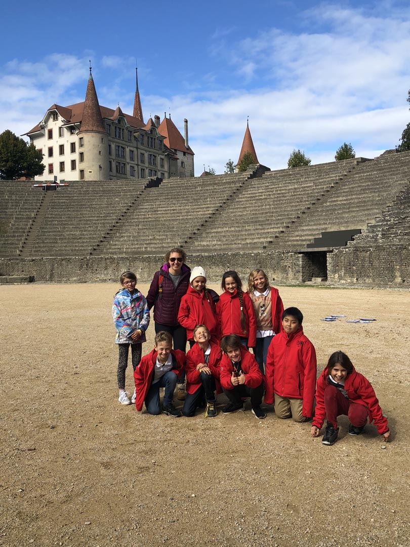 Year 5 visit to The Roman Museum in Avenches